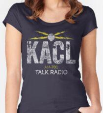 KACL AM-780 Talk Radio Women's Fitted Scoop T-Shirt