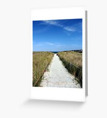 To the Sea... Greeting Card