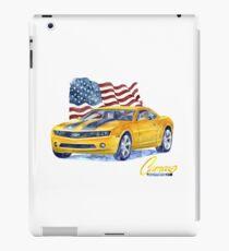 Camaro - transformers iPad Case/Skin