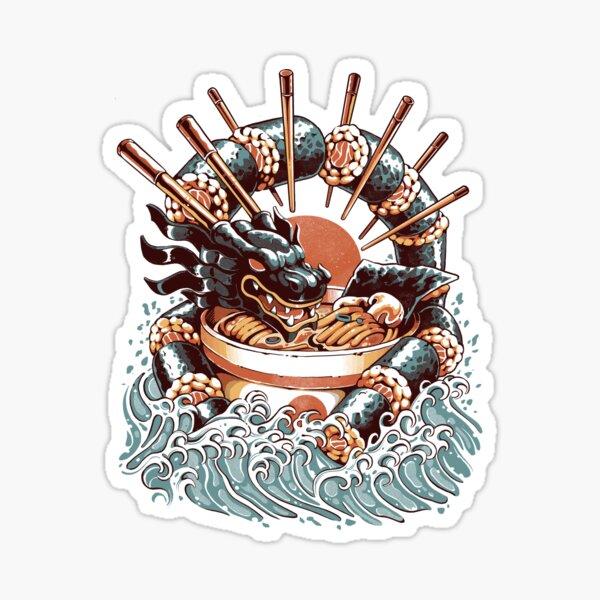 Dragon Sushi Ramen Sticker