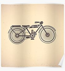 motorcycles Poster