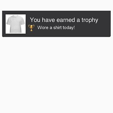 PS3 Trophy Unlocked by triforce15