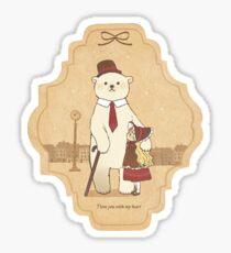 Teddy Love Sticker