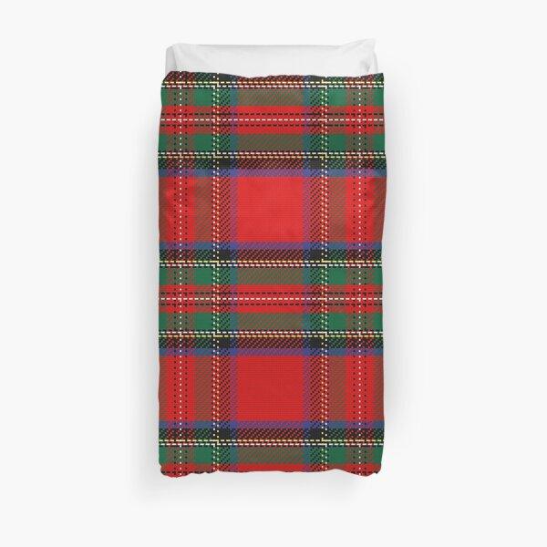 Pattern Scottish tartan Duvet Cover