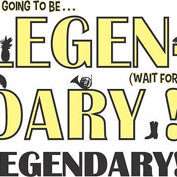 LEGEN... DARY! | Classic Barney Quote by Bitlandia