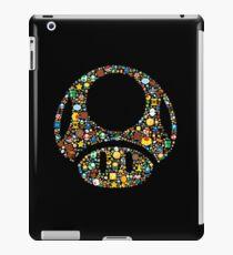 Retro Gaming one up shroom iPad Case/Skin