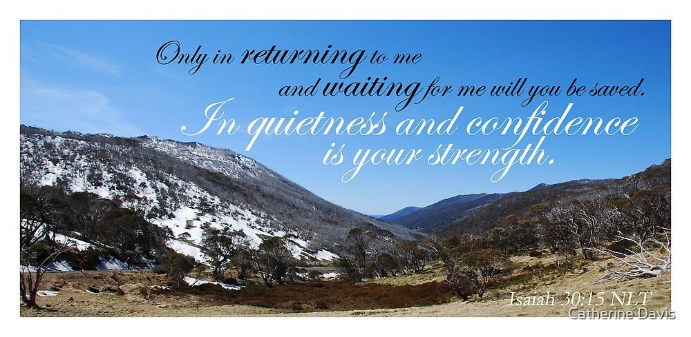 Quietness and Confidence by Catherine Davis