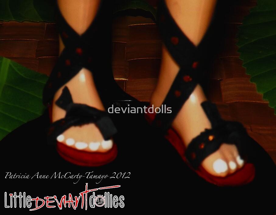 Elf feet by deviantdolls