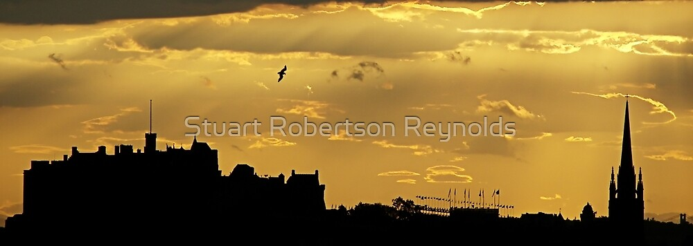 Edinburgh Skyline by Stuart Robertson Reynolds