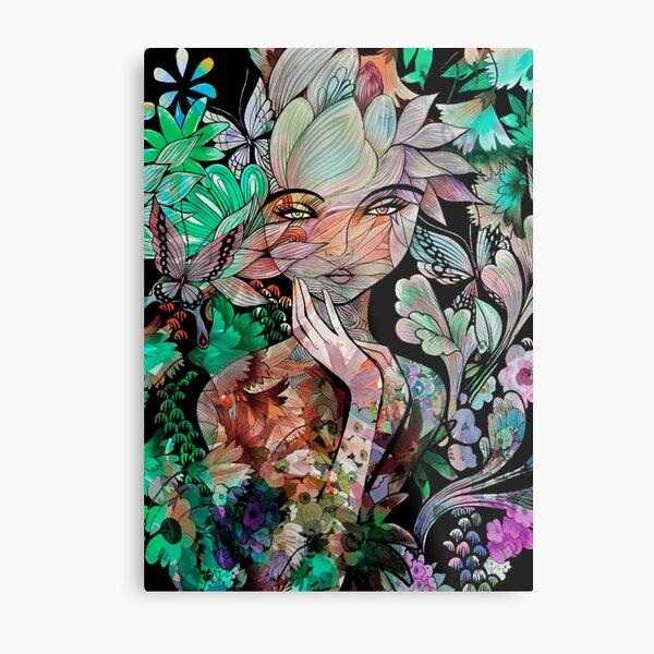'La Madre' Metal Print