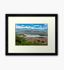 Cocha Lake. Framed Print