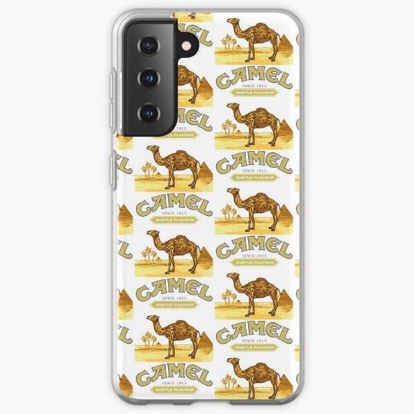 Cigarrillos Camel Funda blanda para Samsung Galaxy
