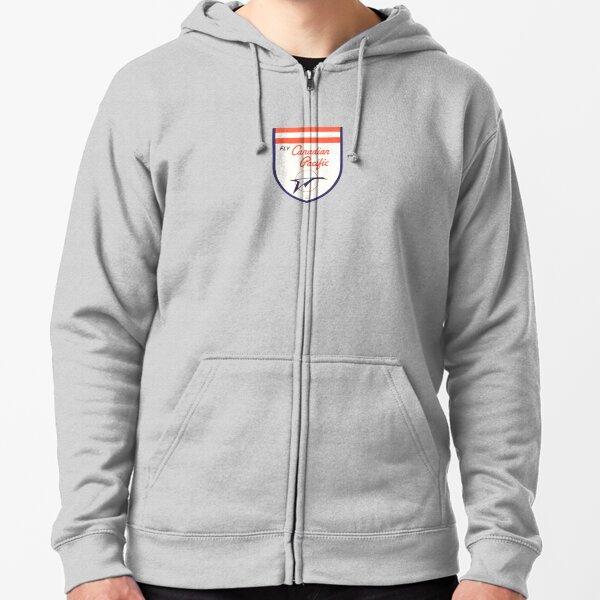 75 Canadian Pacific Railway Zippered Hoodie Sweatshirt