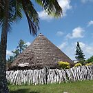 Lifou - Big Chief's hut by Vanessa Pike-Russell