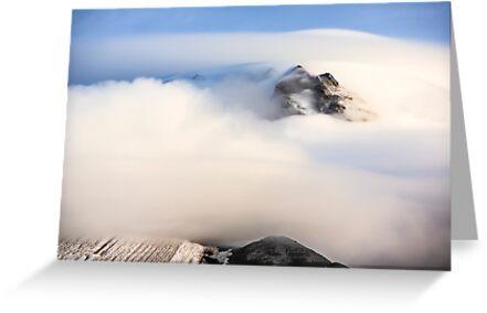 Mount Hood under a Lenticular Cloud by Jim Stiles