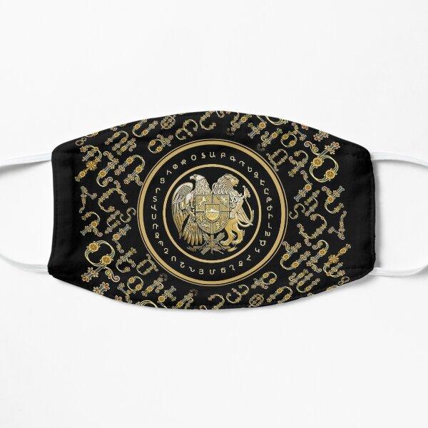 Alphabet & Coat of Arms  Այբուբեն և զինանշան Flat Mask
