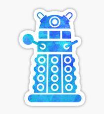 dalek blue version Sticker