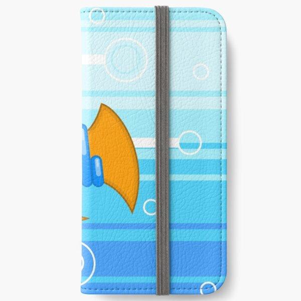 Orange Fish iPhone Wallet