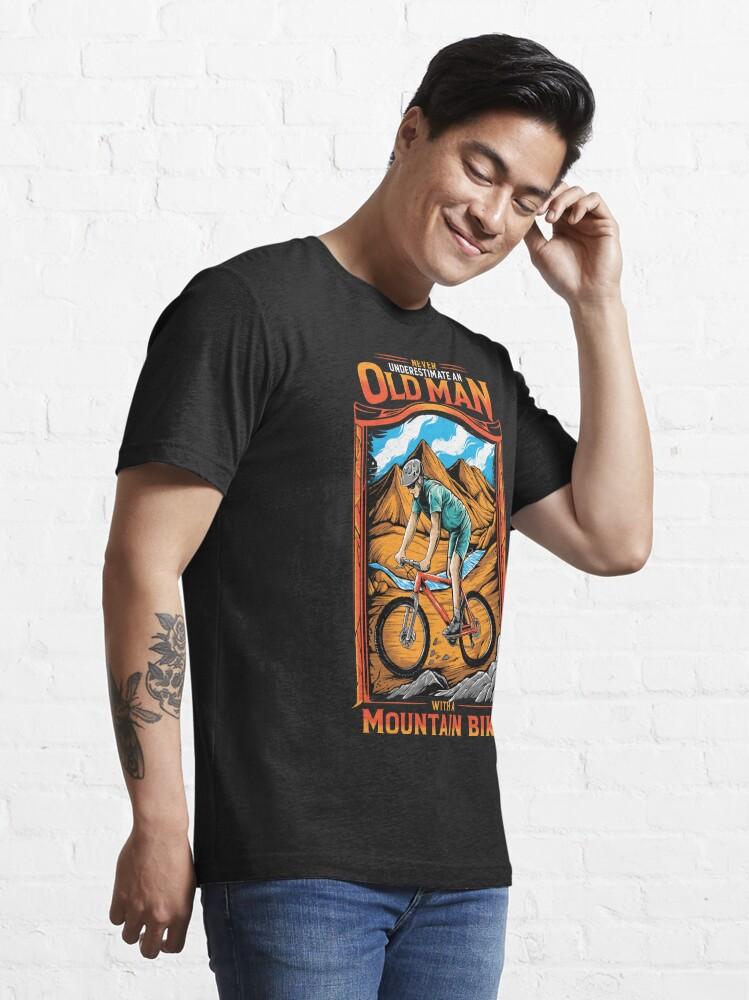 Alternate view of MTB Mountain Bike Essential T-Shirt