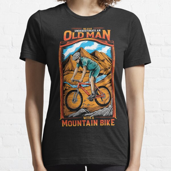 MTB Mountain Bike Essential T-Shirt