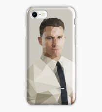 Channing Tatum - low poly iPhone Case/Skin