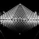 The Louvre, Paris by Stuart Robertson Reynolds