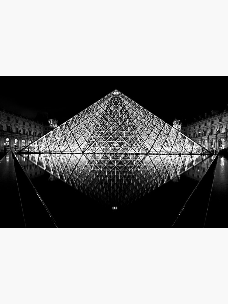 The Louvre, Paris by Sparky2000