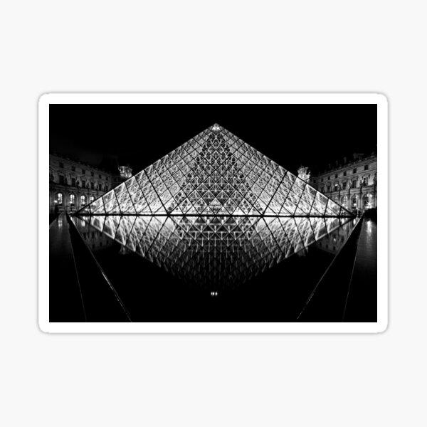 The Louvre, Paris Sticker