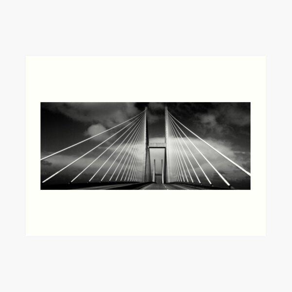 M. E. Thompson Memorial Bridge Art Print