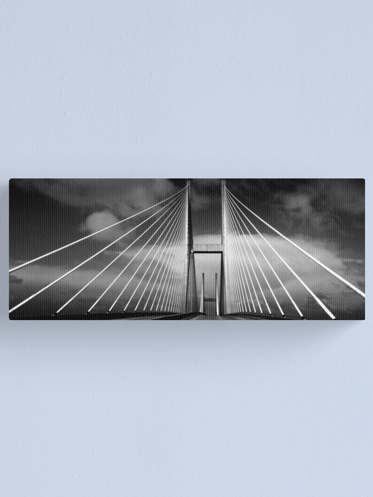 Alternate view of M. E. Thompson Memorial Bridge Canvas Print