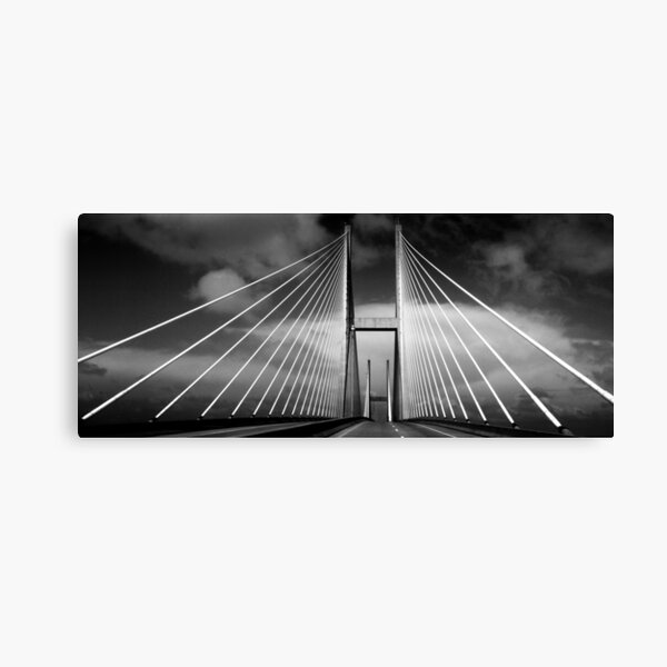 M. E. Thompson Memorial Bridge Canvas Print