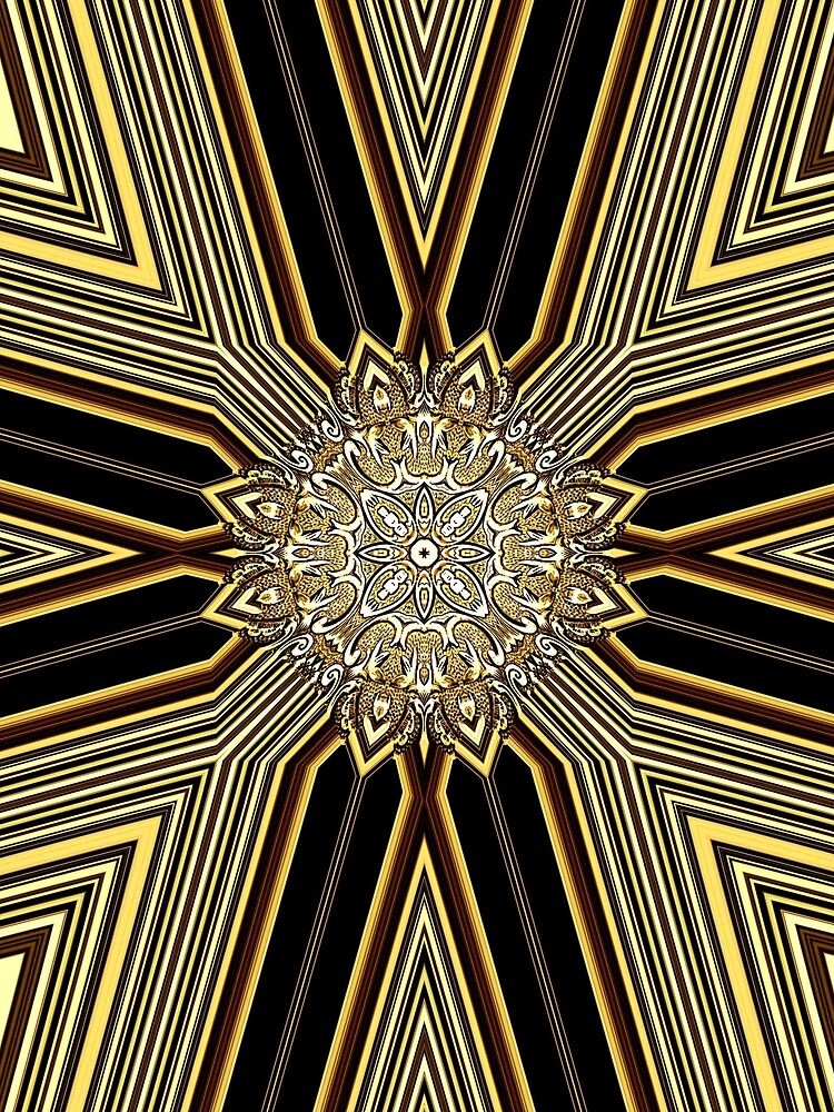 Creative Golden Lines (1) by vkdezine