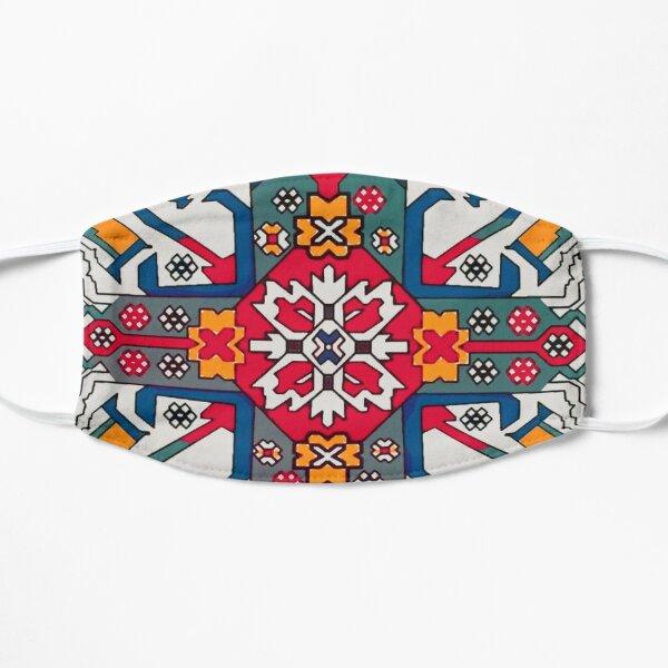 Armenian Colorful Folk Art Հայկական գունագեղ ժողովրդական արվեստ Flat Mask