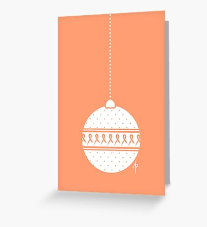 Bauble Greeting Card