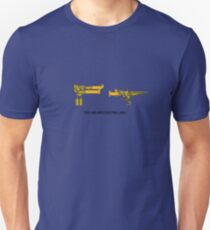 Troy and Abed Shooting Lava! (simple) T-Shirt