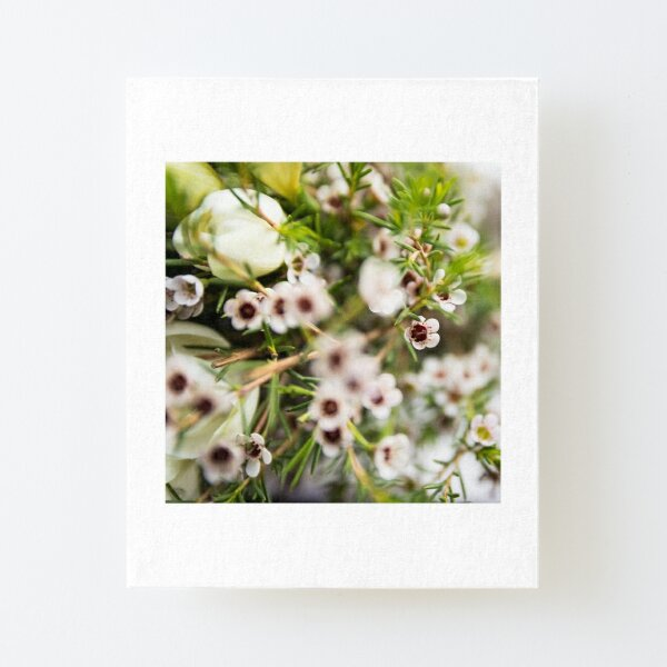 dainty flowers  Canvas Mounted Print