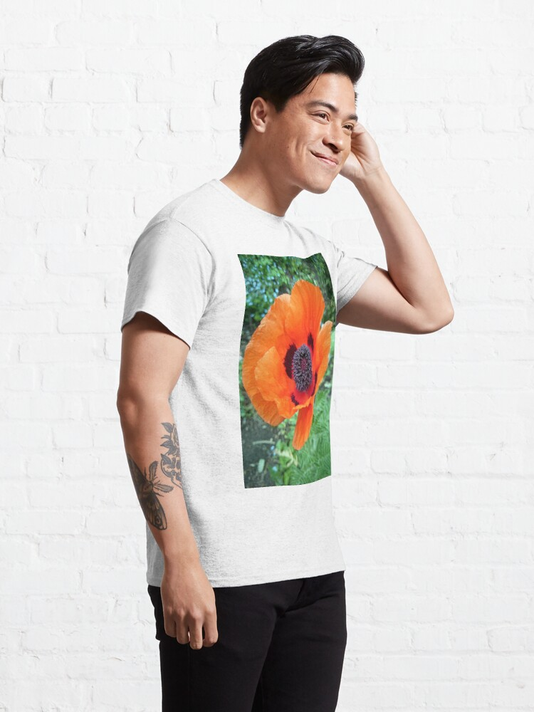 Alternative Ansicht von Mohn-Blüte Classic T-Shirt