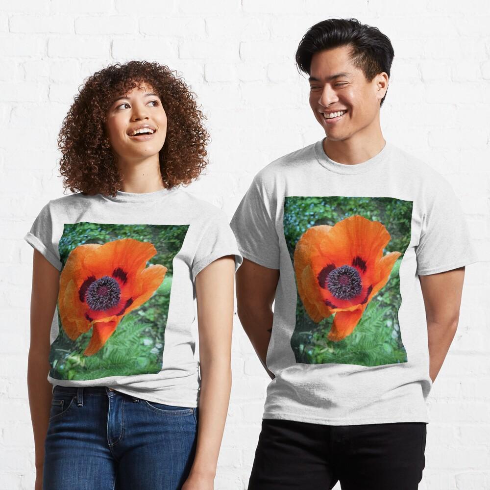 Mohn-Blüte Classic T-Shirt