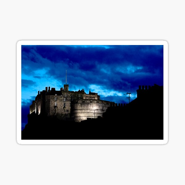 Edinburgh Castle Sticker