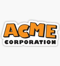 ACME corporation (orange) Sticker