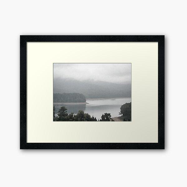 Selover's Mist Framed Art Print