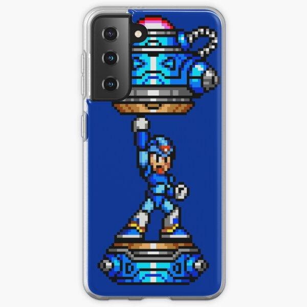 Rockman X Samsung Galaxy Soft Case