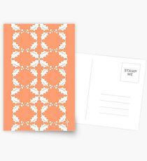 Holly Pattern Postcards