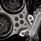 Triumph handlebar clamp by Norman Repacholi