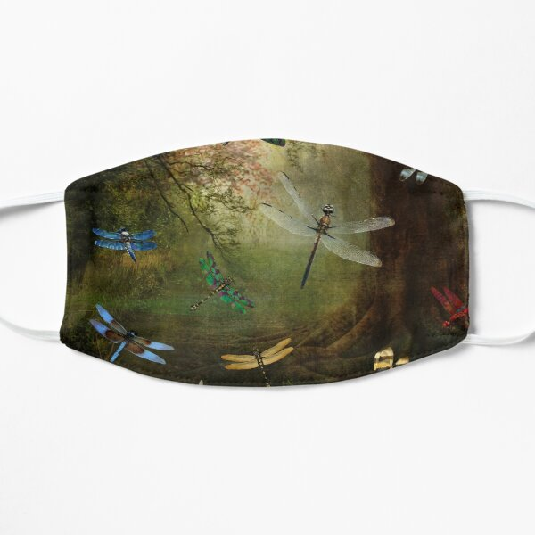 Dragonfly Playground Flat Mask