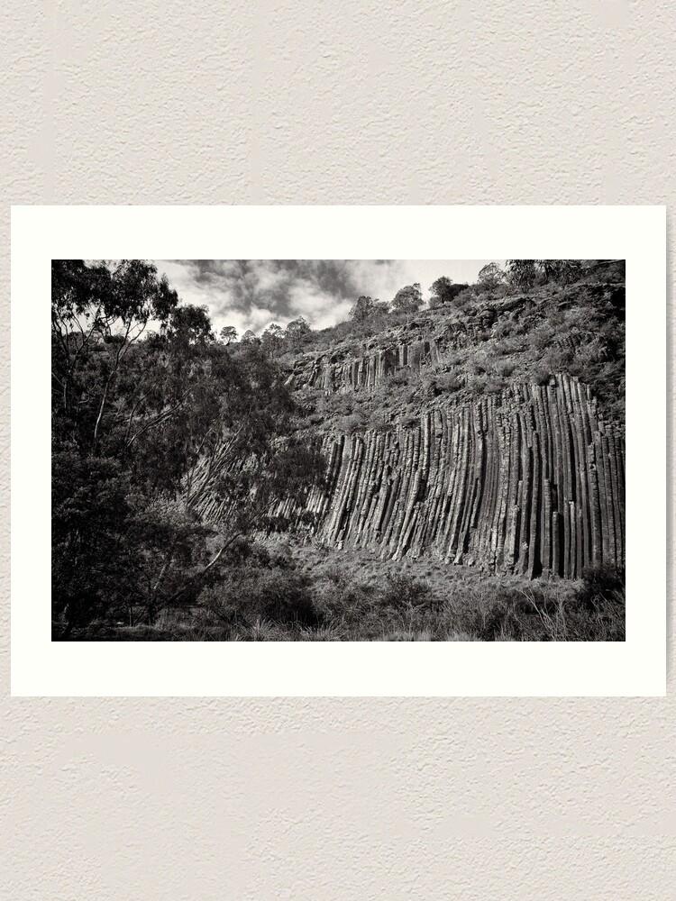 Alternate view of Organ Pipes - Victoria Art Print
