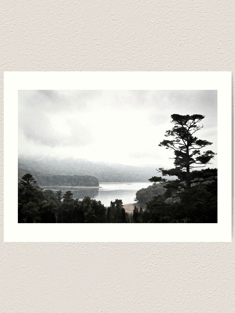 Alternate view of Selover's Mist Revisited Art Print