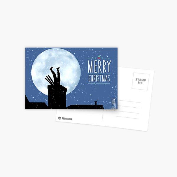 Merry christmas Postcard