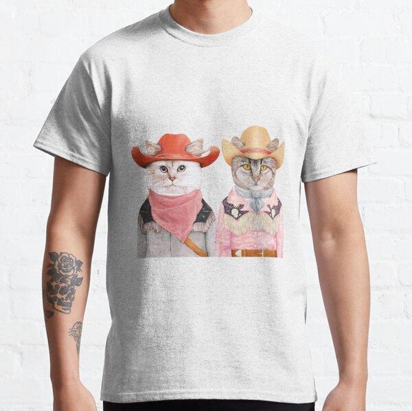 Cowboy Cats Classic T-Shirt