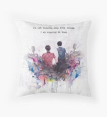 whouffle Throw Pillow
